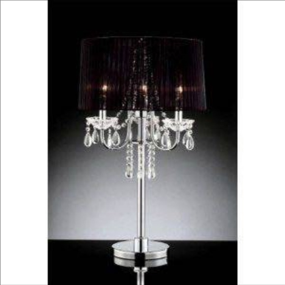 Accents Hanging Crystal Chandelier Table Lamp Poshmark